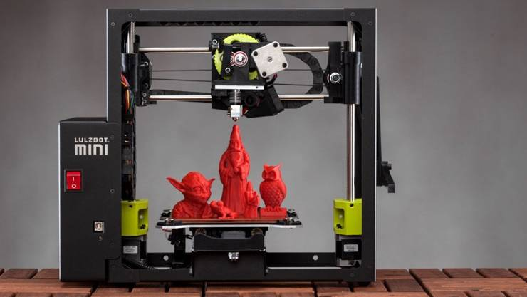 A 3D printer can print our three dimensional objects