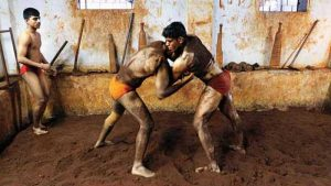 The ancient sport of Kushti is still practiced in traditional akharas